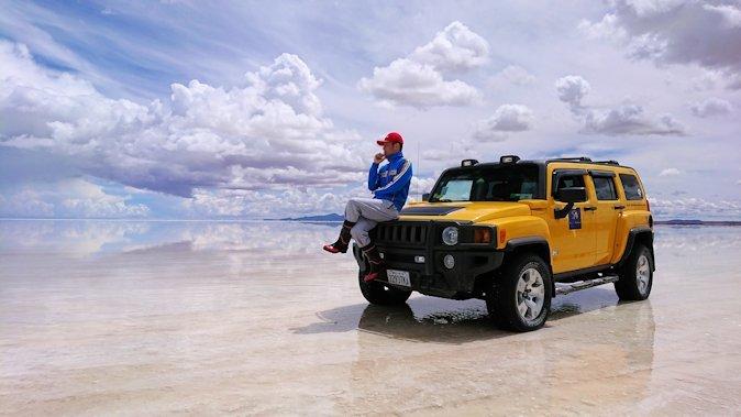 ウユニ塩湖 サイコー