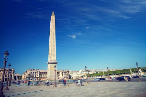 エジプト旅行 ブログ 口コミ コンコルド広場 オベリスク