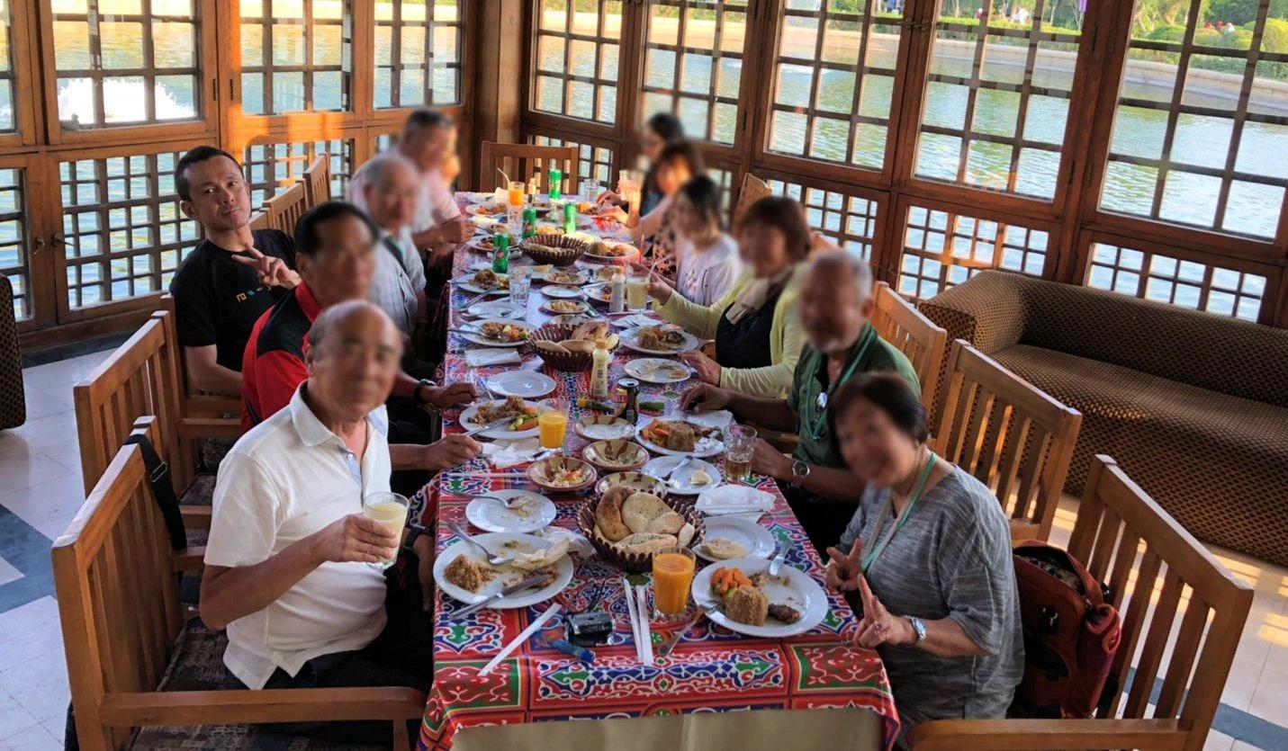 エジプト旅行 ブログ 口コミ カイロ レストラン