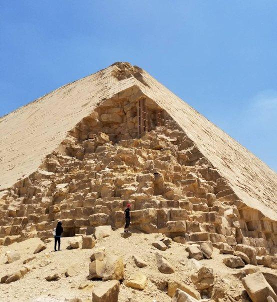 エジプト旅行 ブログ 口コミ カイロ ピラミッド 屈折