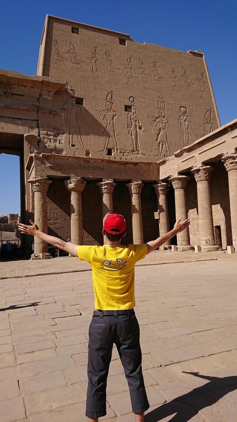 エジプト旅行 ブログ 口コミ ホルス神殿