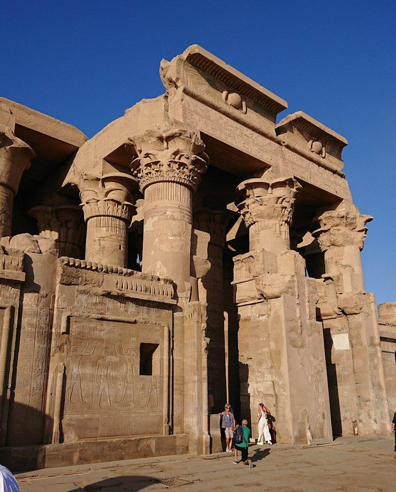 エジプト旅行 ブログ 口コミ コム・オンボ神殿