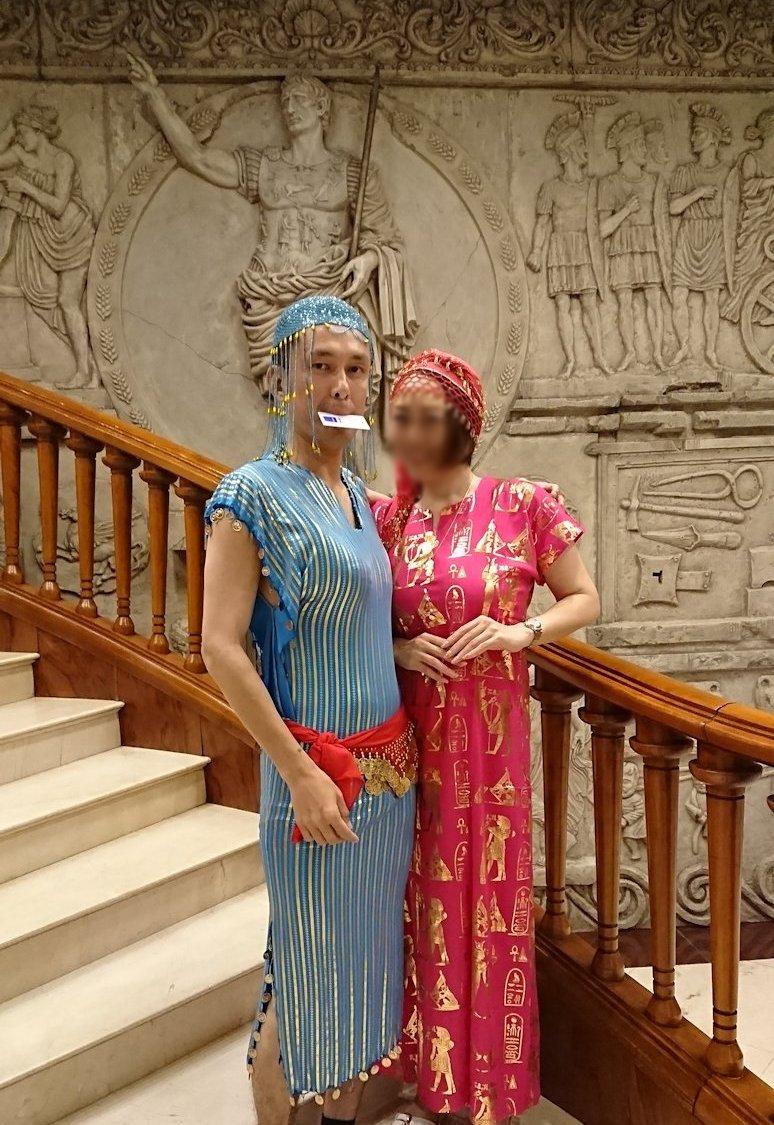 エジプト旅行 ブログ 口コミ ガラベイヤ 女装