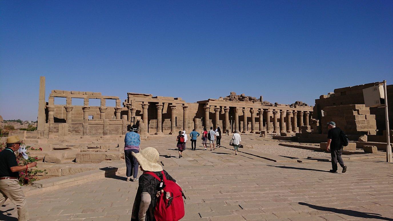 エジプト旅行 ブログ 口コミ イシス神殿