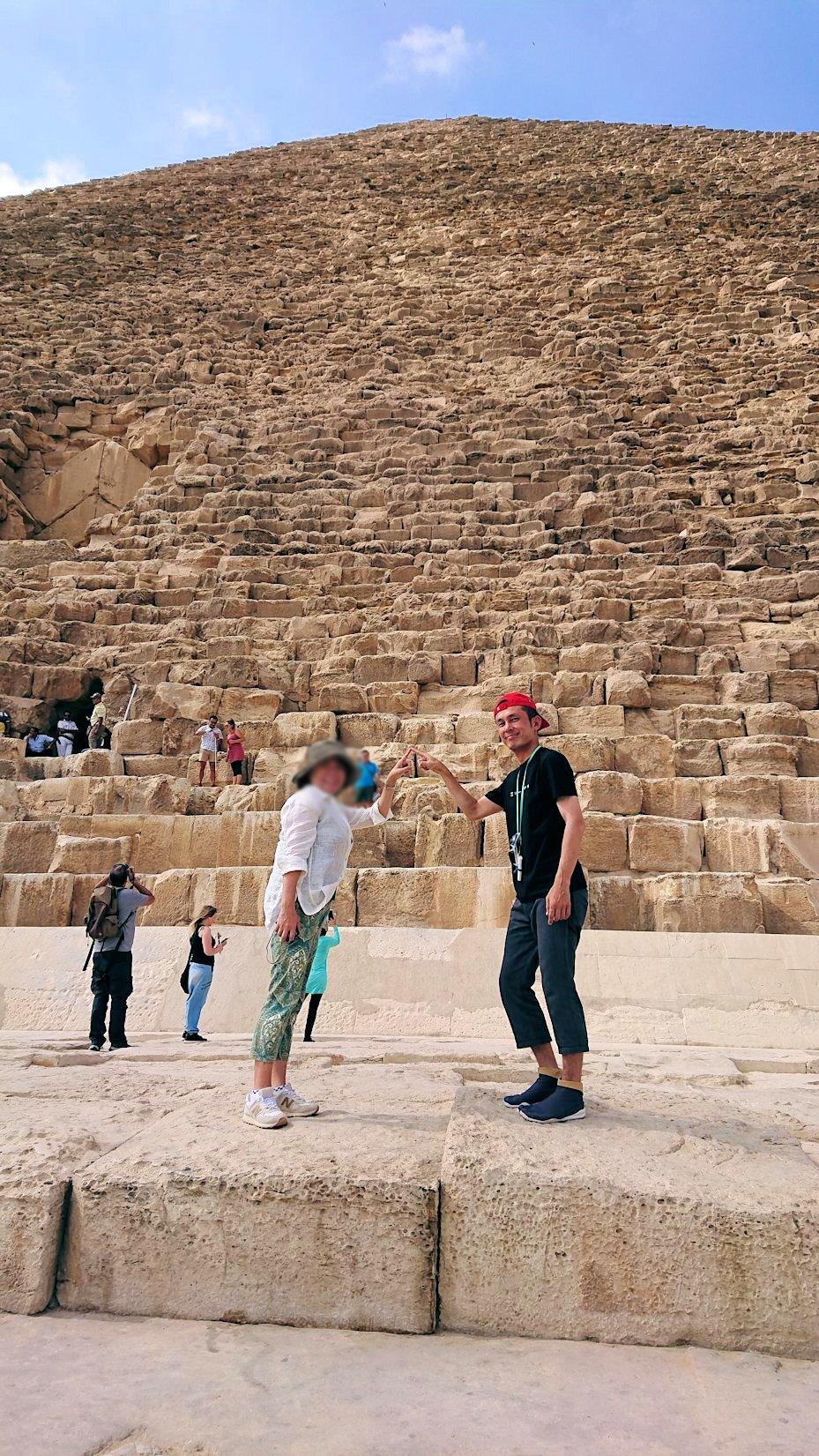 エジプト旅行 ブログ 口コミ カイロ ピラミッド