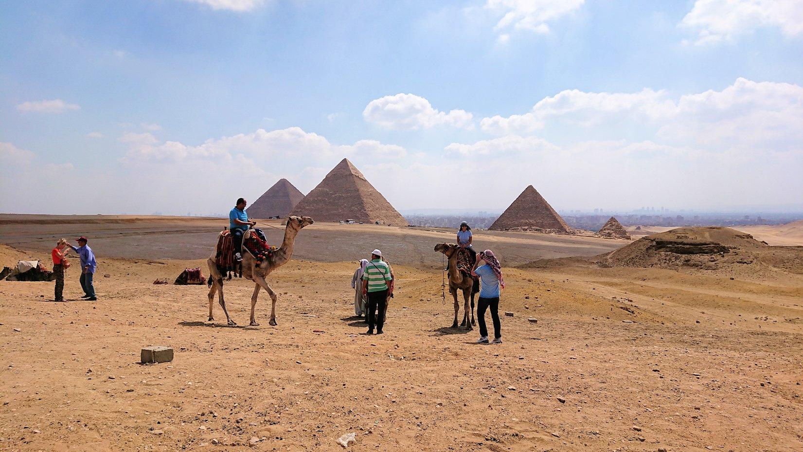 エジプト旅行 ブログ 口コミ カイロ ピラミッド ラクダ