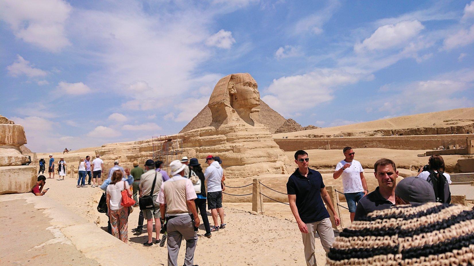 エジプト旅行 ブログ 口コミ カイロ スフィンクス