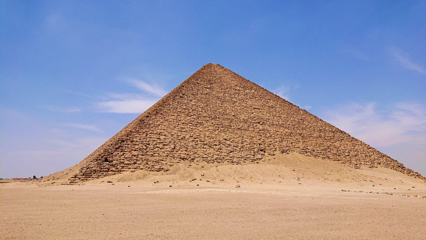 エジプト旅行 ブログ 口コミ カイロ ピラミッド 赤