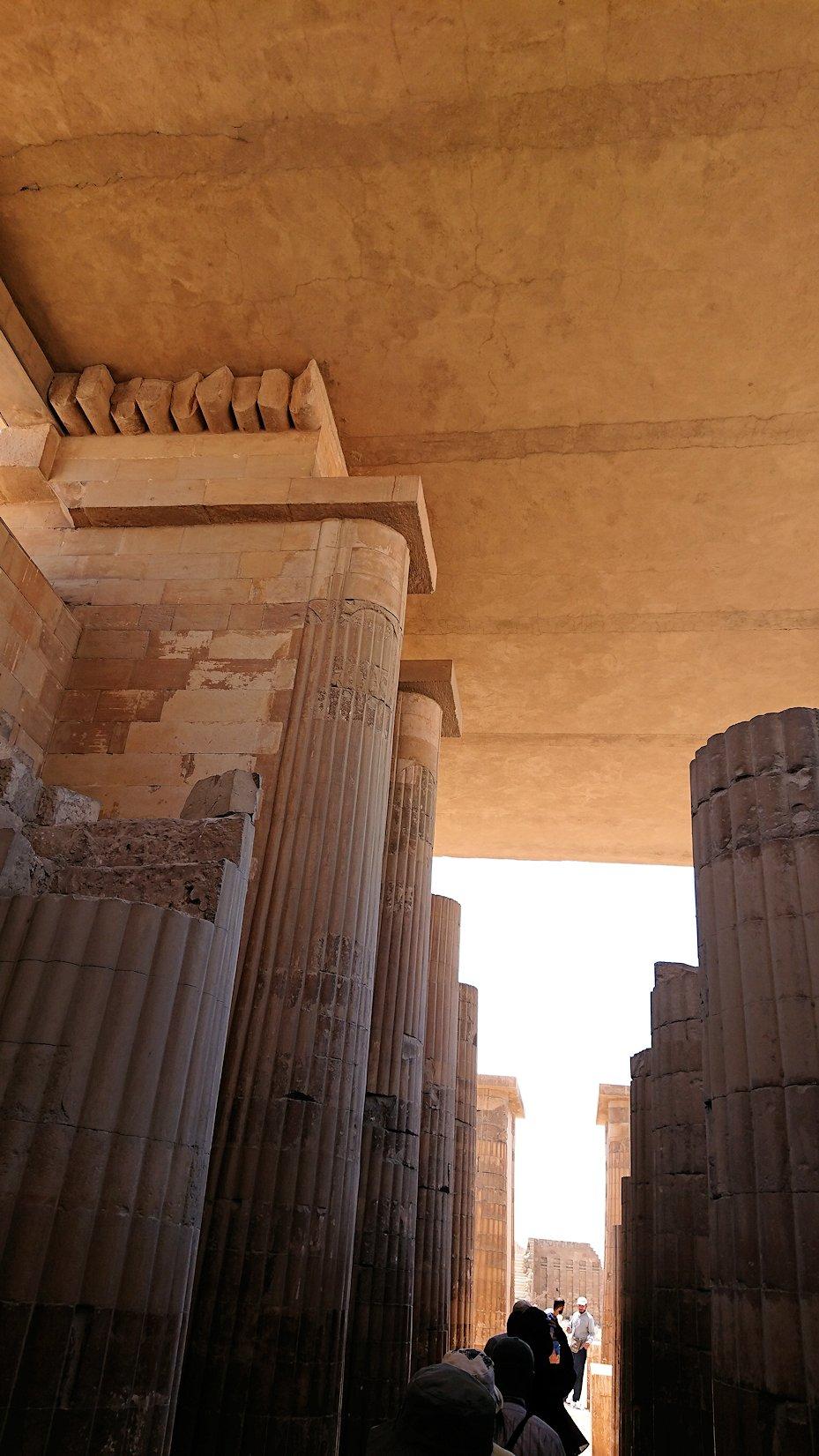 エジプト旅行 ブログ 口コミ カイロ ピラミッド 階段