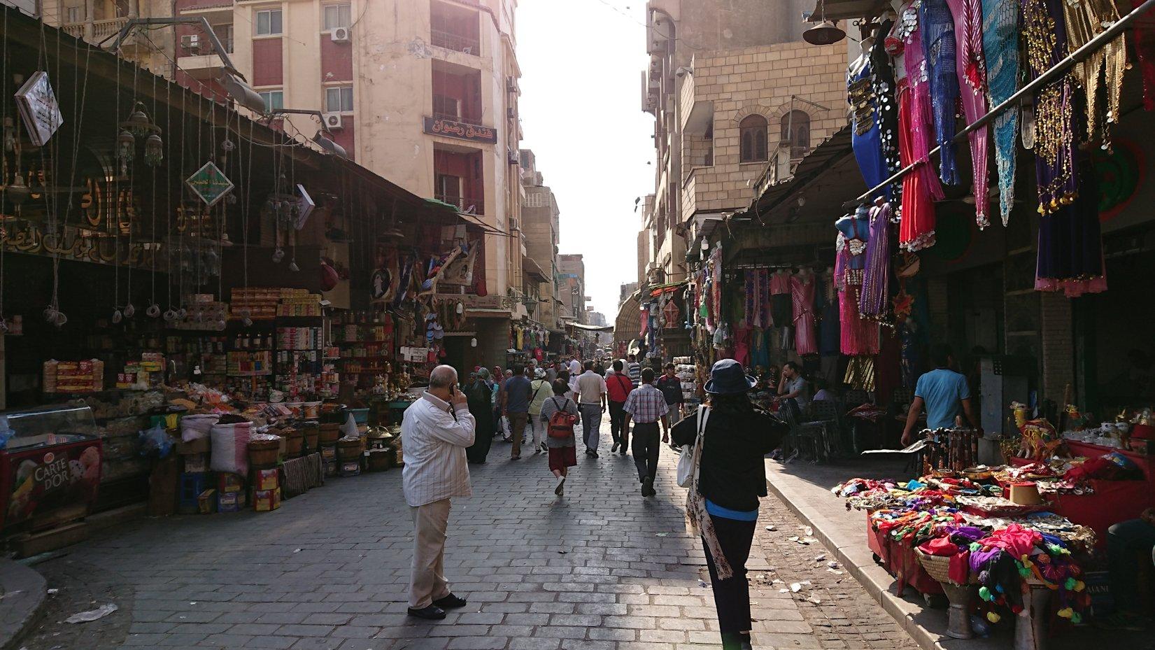 エジプト旅行 ブログ 口コミ カイロ ハン・ハリーリ