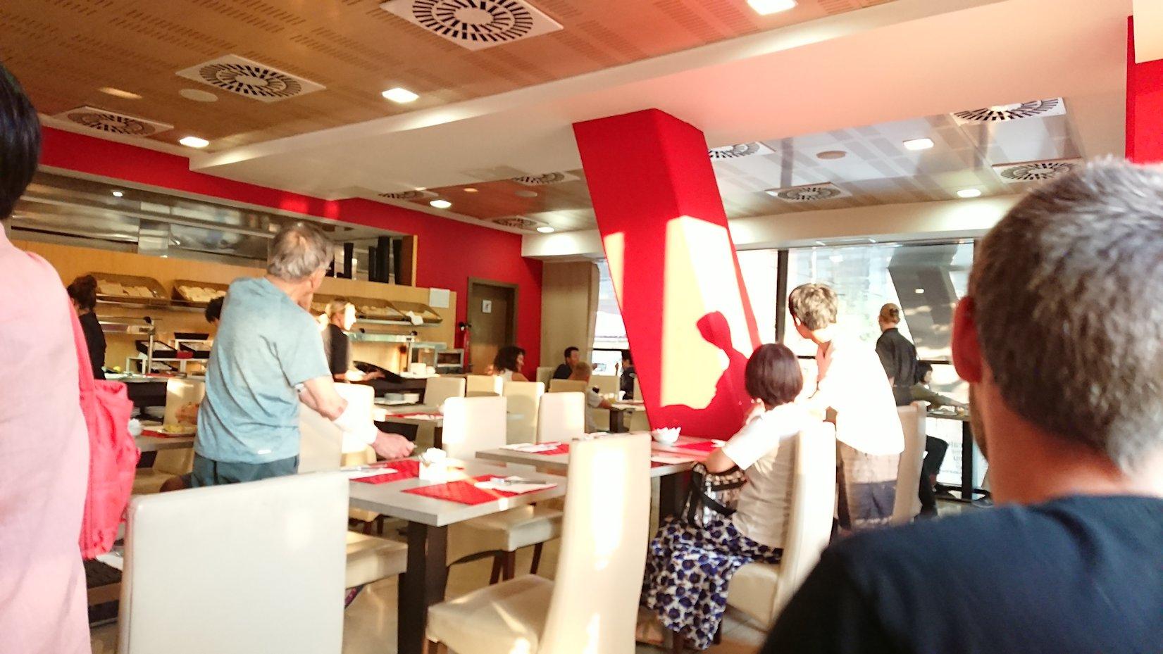 スペイン旅行 バルセロナ 朝食 日本旅行