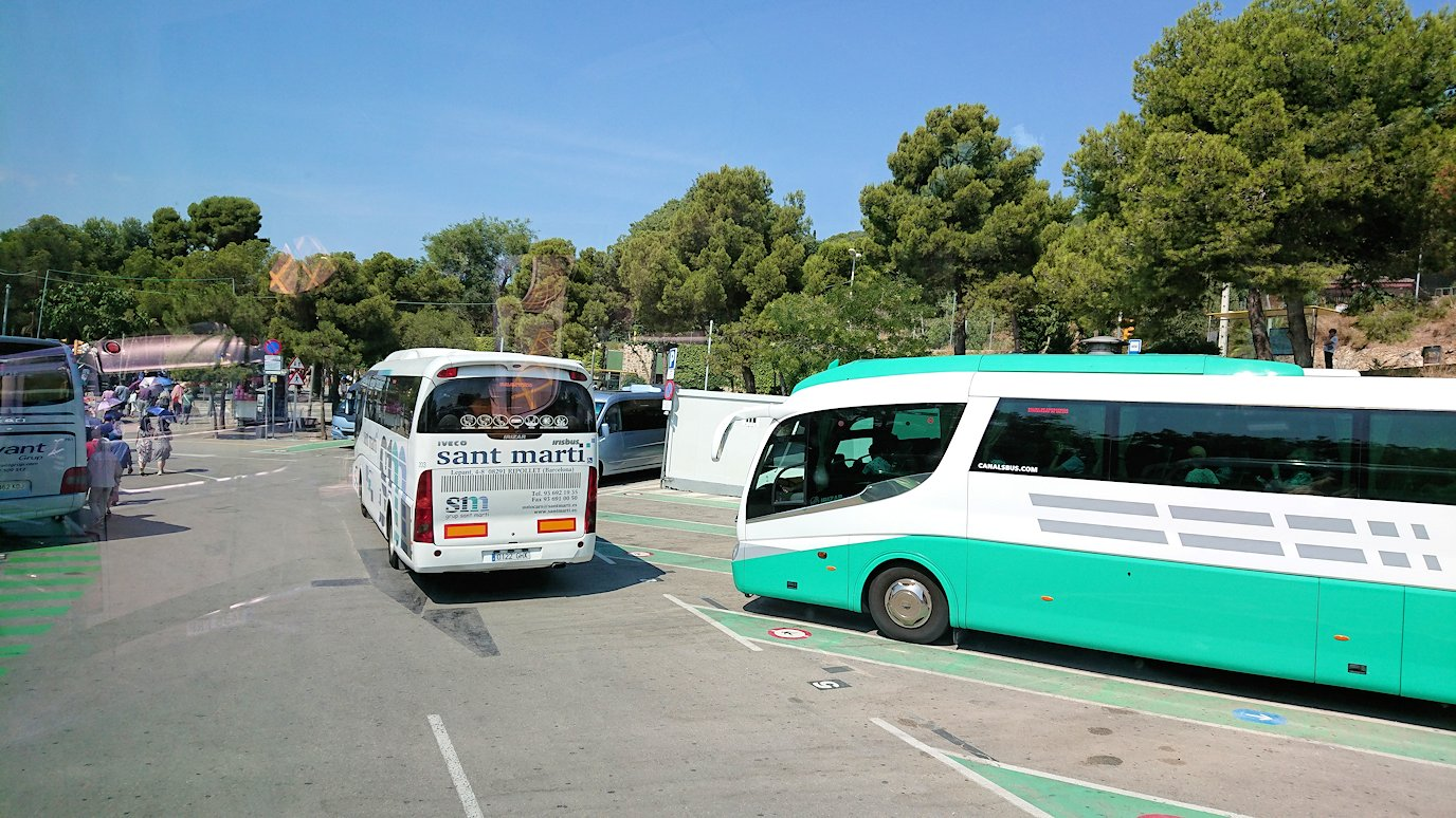 スペイン旅行 バルセロナ ガウディ グエル公園 日本旅行