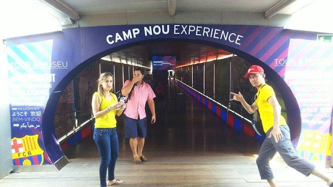 スペイン旅行 バルセロナ 日本旅行 バルサ カンプノウ 地下鉄 ブログ 口コミ
