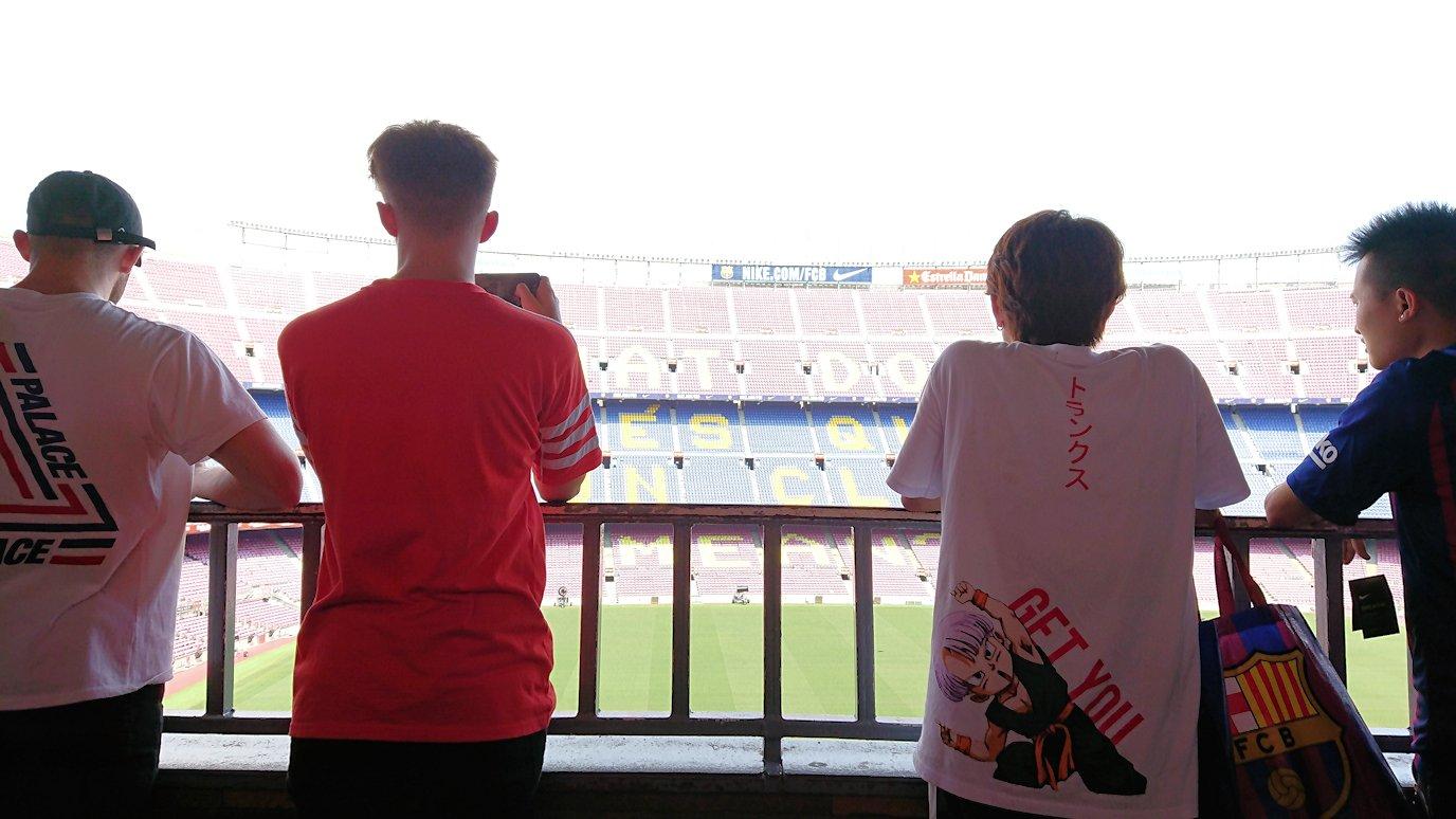 スペイン旅行 バルセロナ 日本旅行 バルサ カンプノウ 見学 地下鉄 ブログ 口コミ