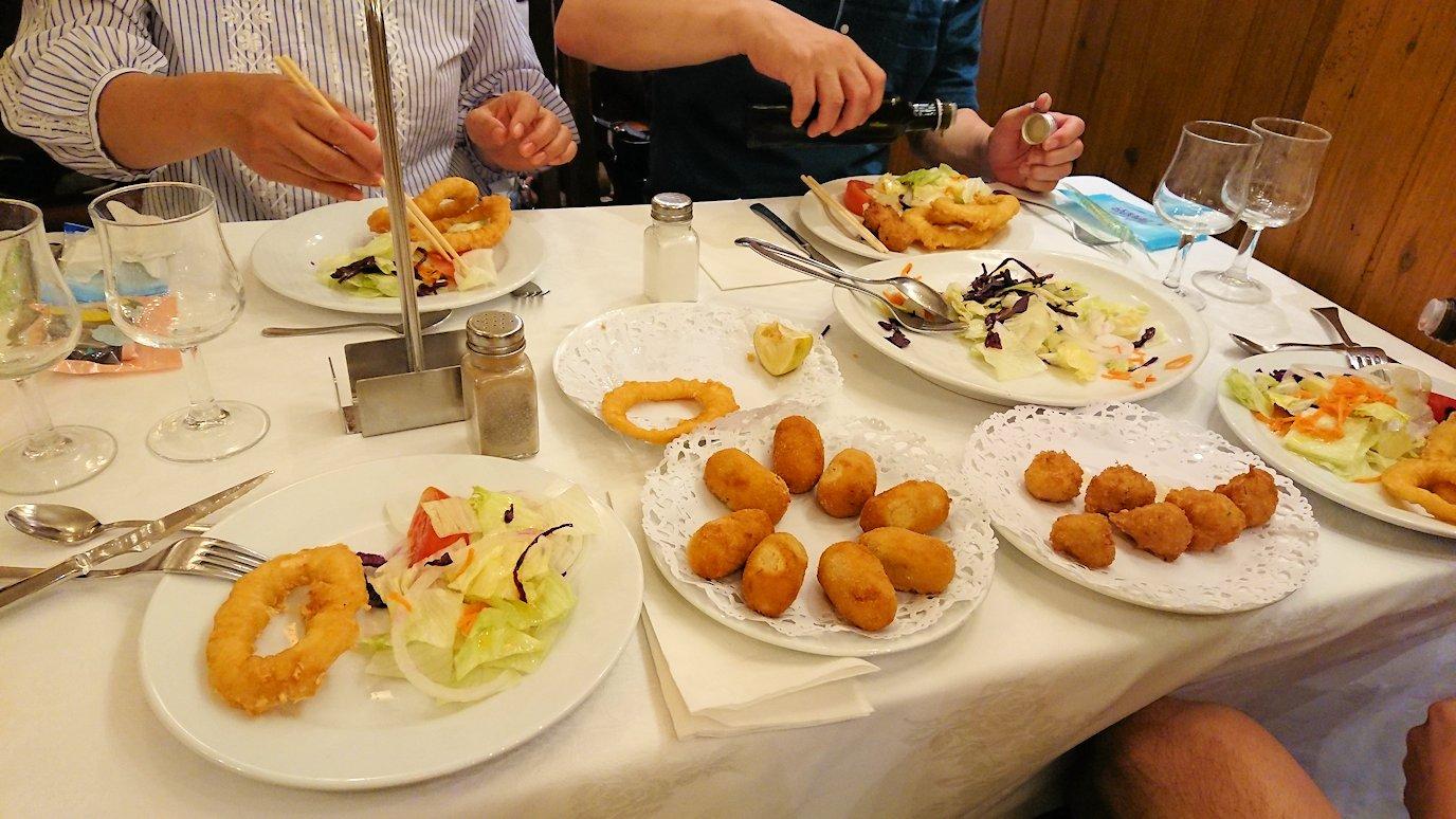 スペイン旅行 バルセロナ 日本旅行 バルセロナ 夕食 ブログ 口コミ