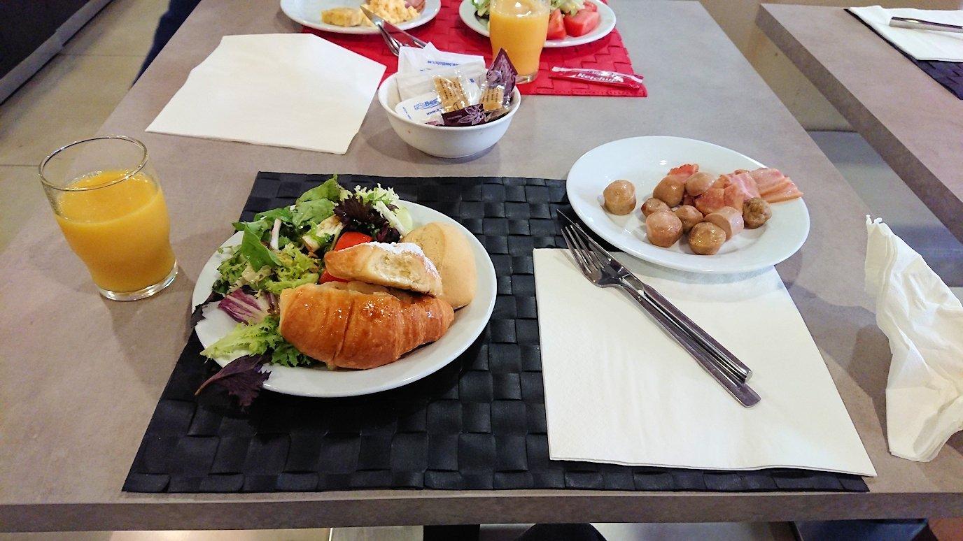 スペイン旅行 バルセロナ 日本旅行 モーニング 朝食 バイキング ブログ 口コミ