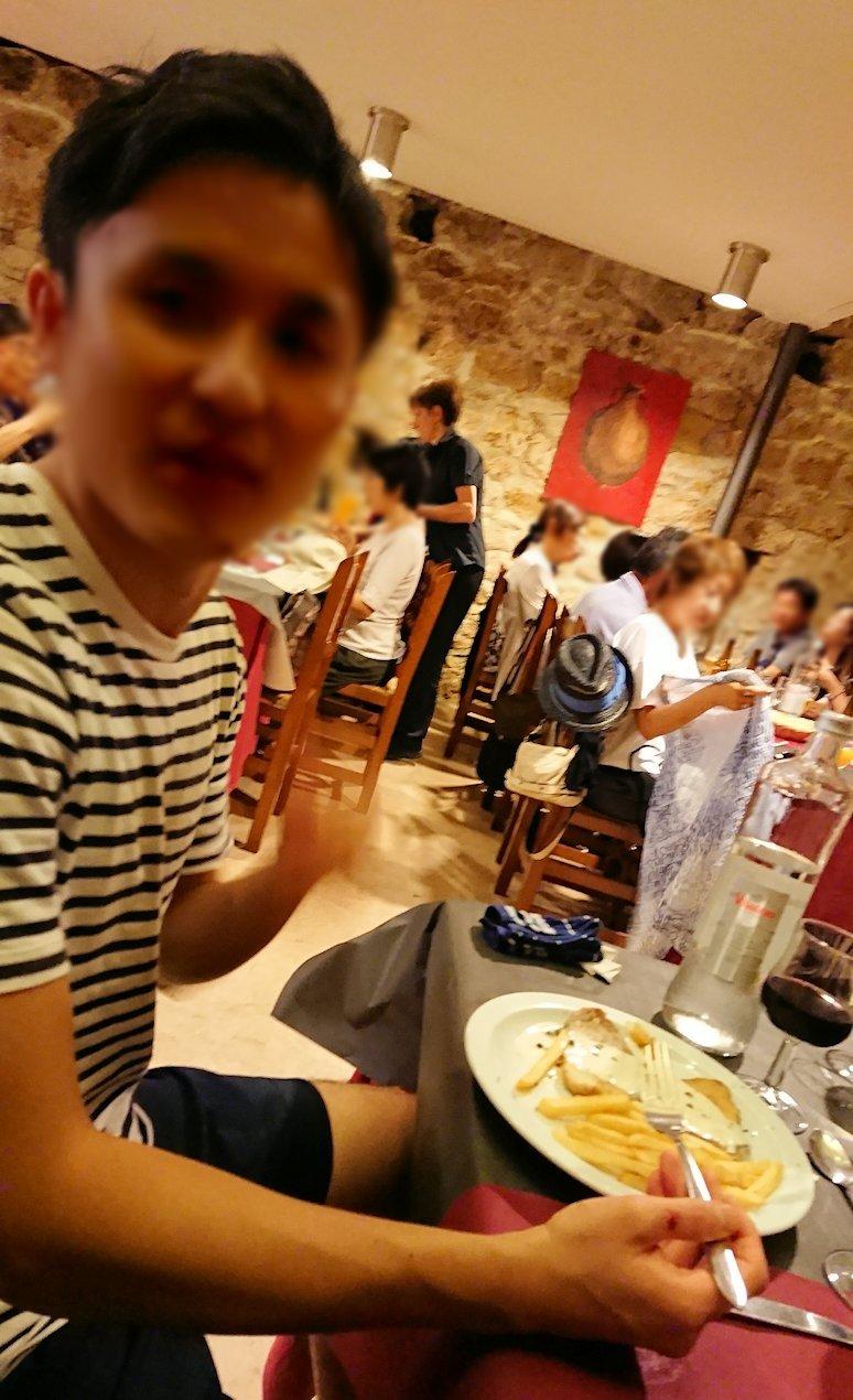 スペイン旅行 ツアー 観光 日本旅行 タラゴナ 広場 昼食 レストラン ブログ 口コミ