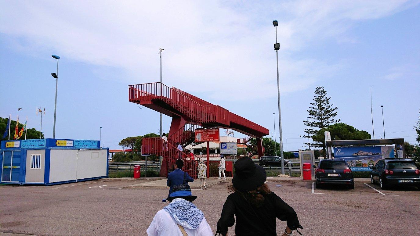 スペイン旅行 ツアー 観光 日本旅行 バレンシア パーキングエリア ブログ 口コミ