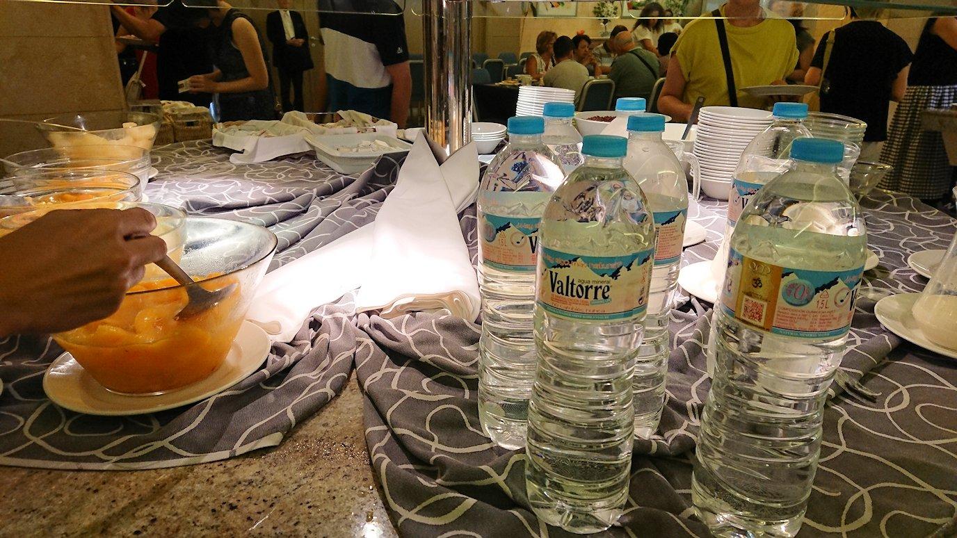 スペイン旅行 ツアー 観光 日本旅行 バレンシア オレンジ ホテル バイオハザード  バー 食事 朝食 バイキング ブログ 口コミ