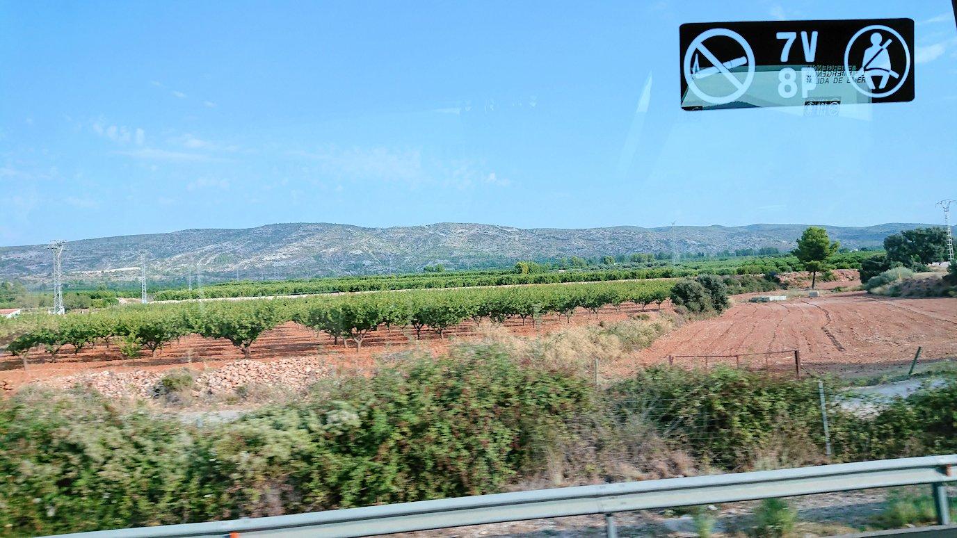 スペイン旅行 ツアー 観光 日本旅行 バレンシア グラナダ バス 移動 ブログ 口コミ