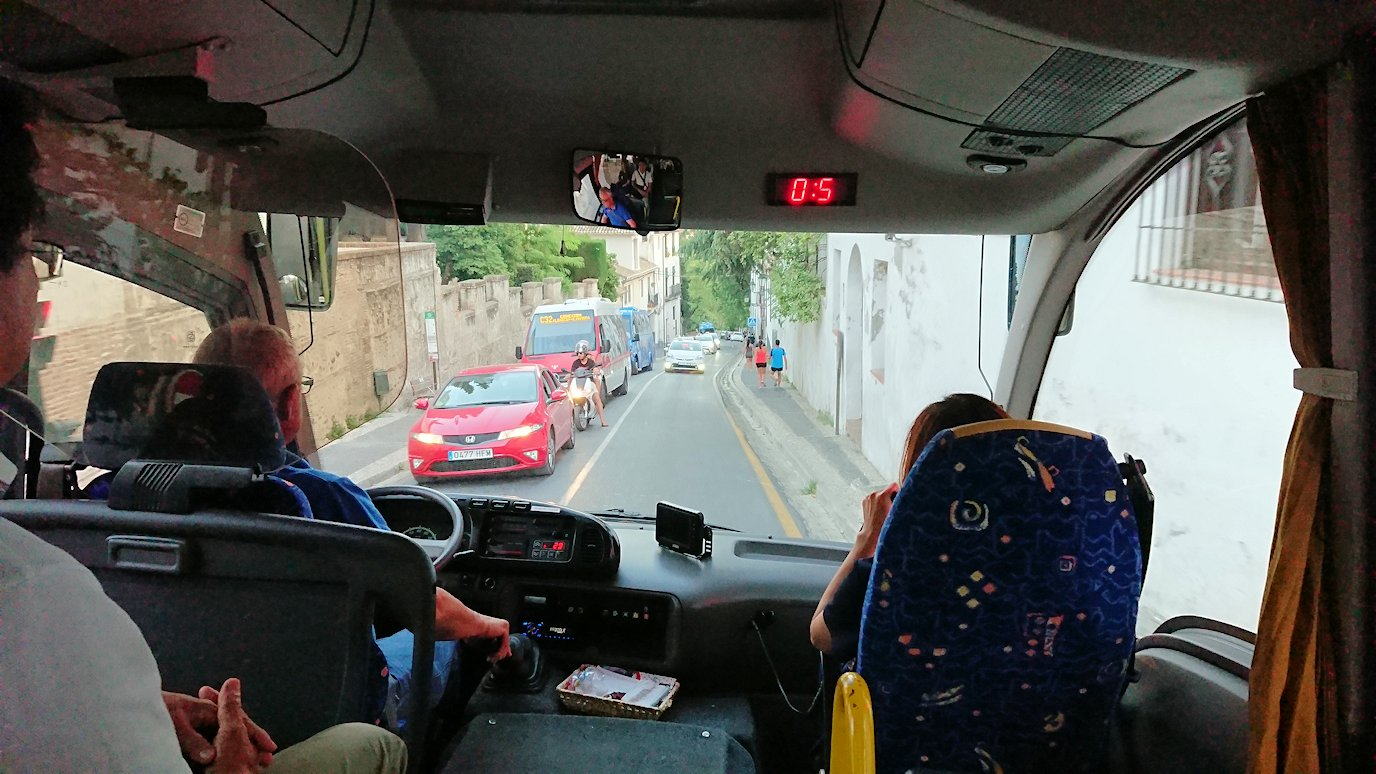 スペイン旅行 ツアー 観光 日本旅行 グラナダ アルハンブラ宮殿 グラナダパレス フラメンコ ショー ミニバス ブログ 口コミ
