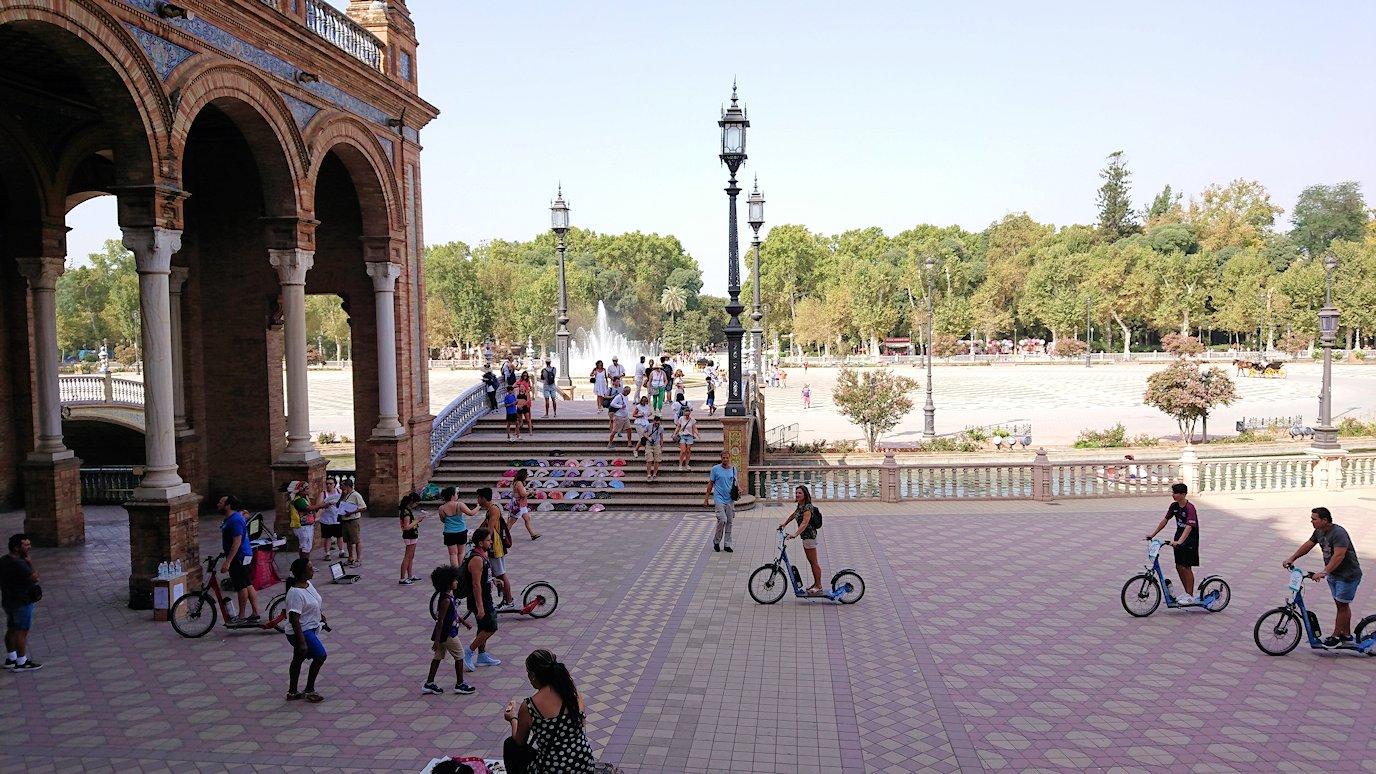 スペイン旅行 ツアー 観光 日本旅行 セビリア スペイン広場 ブログ 口コミ