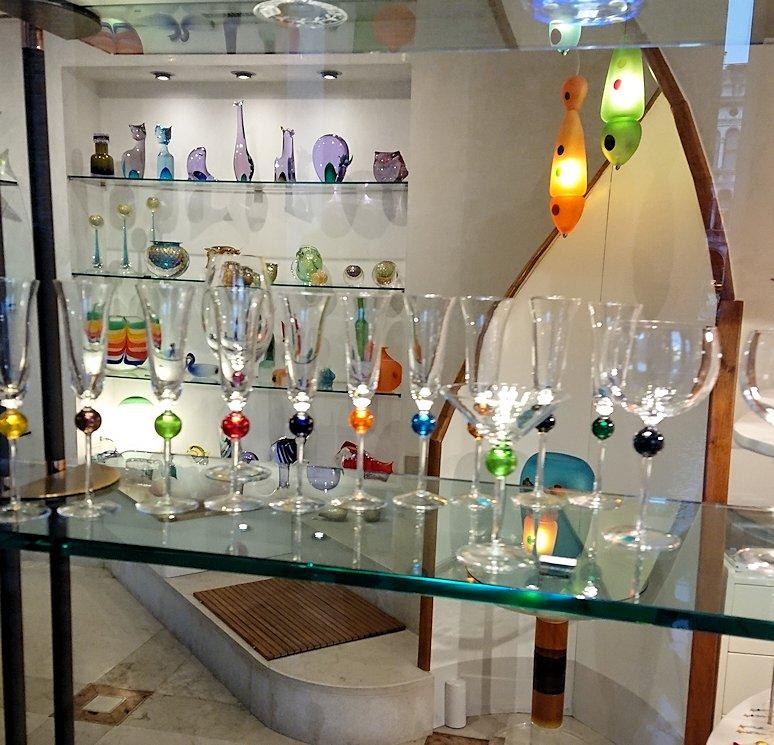 ベネチアンガラスのオシャレなお店2