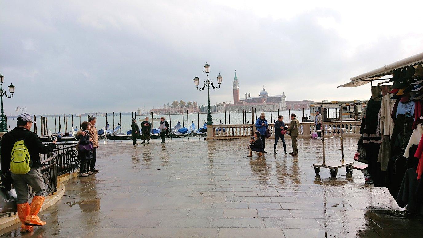 ベネチアの街の午後の眺め