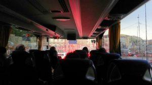 バスでフィレンツェ市内を移動