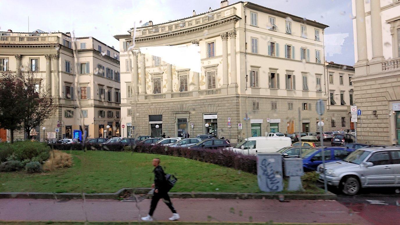 バスでフィレンツェ市内を移動7