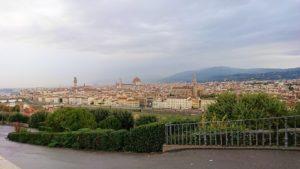 フィレンツェ市内のミケランジェロ広場からの絶景