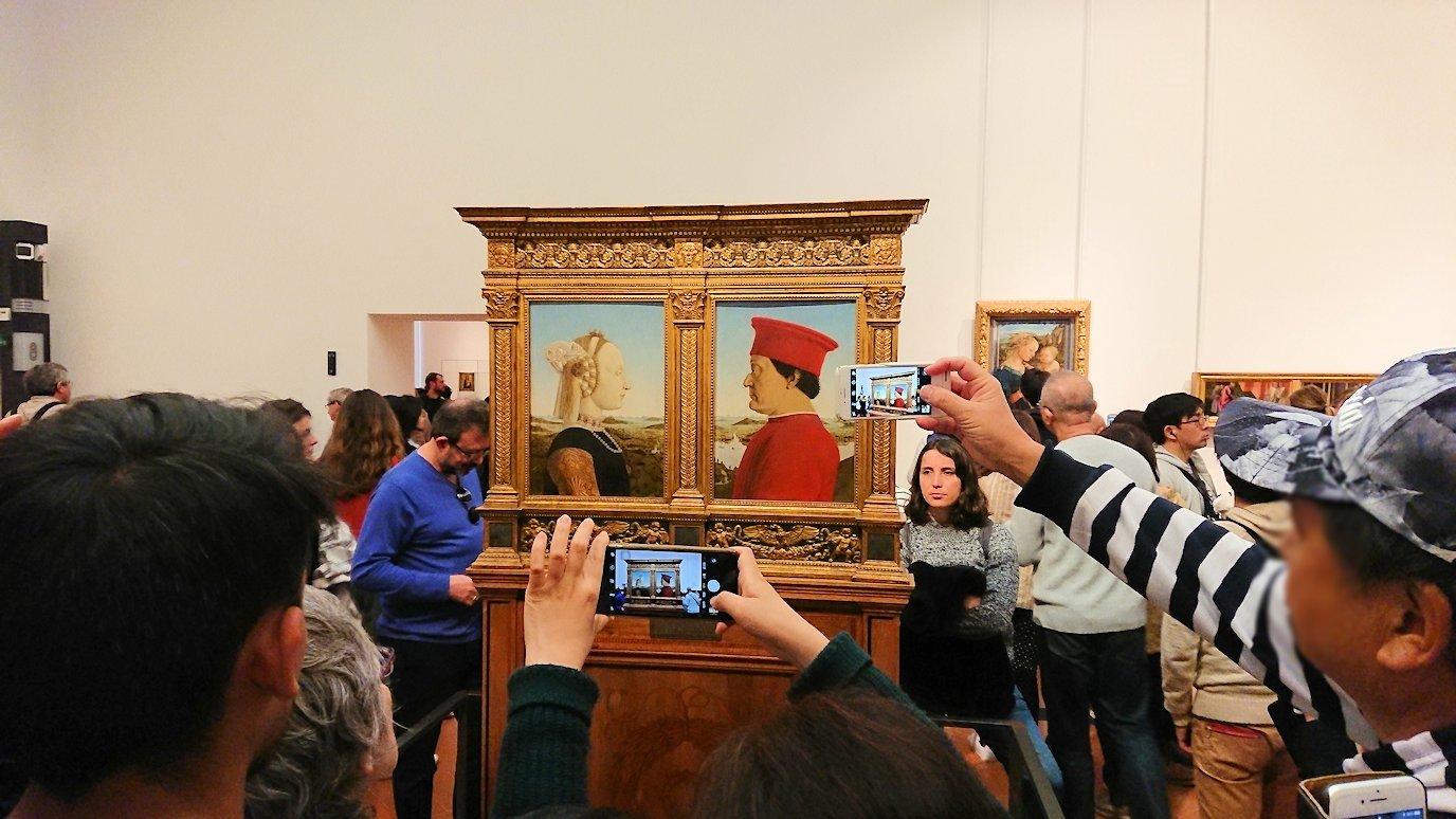 ウフィツィ美術館の有名な肖像画