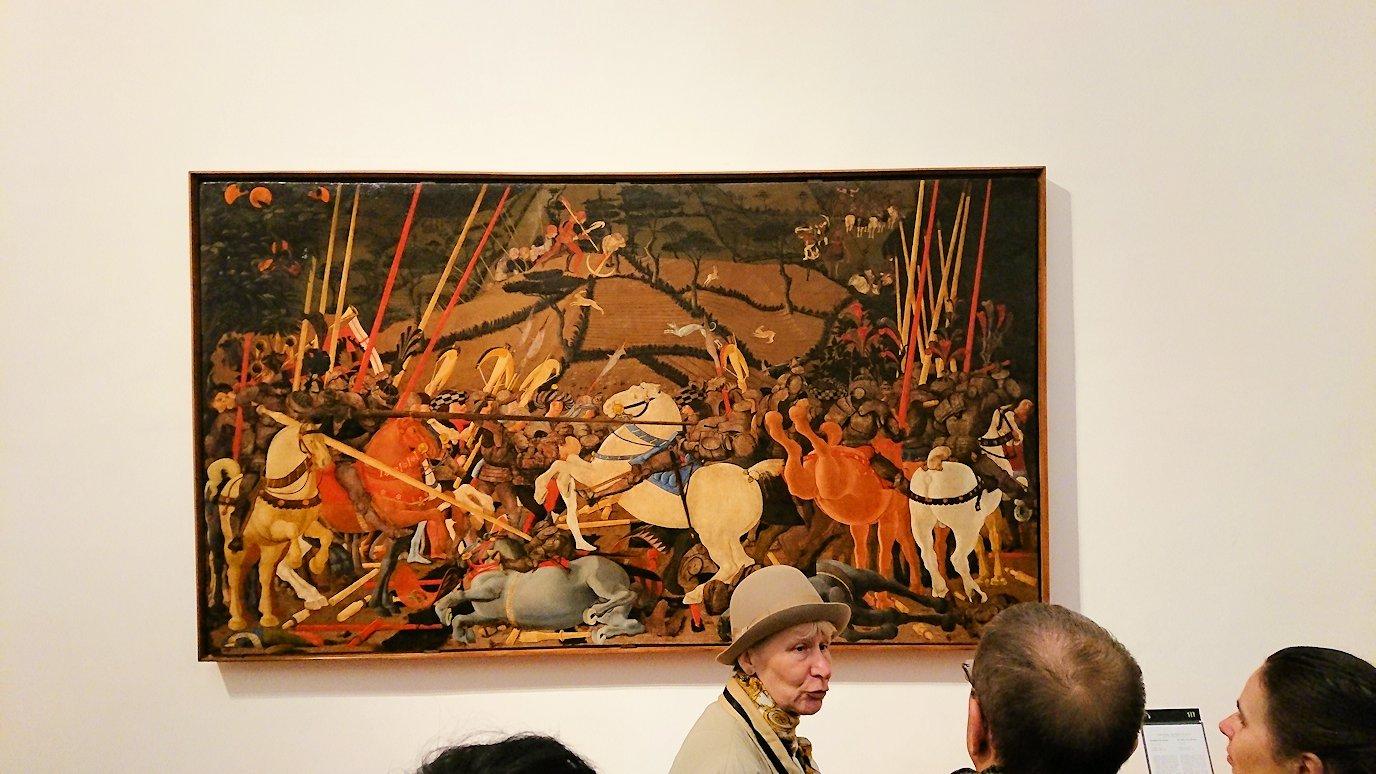 ウフィツィ美術館の絵画