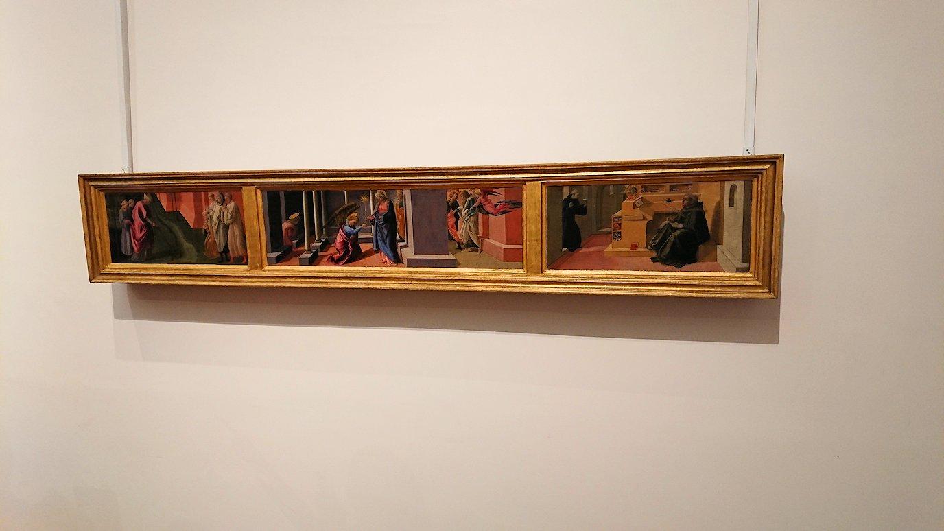 ウフィツィ美術館の有名な絵画