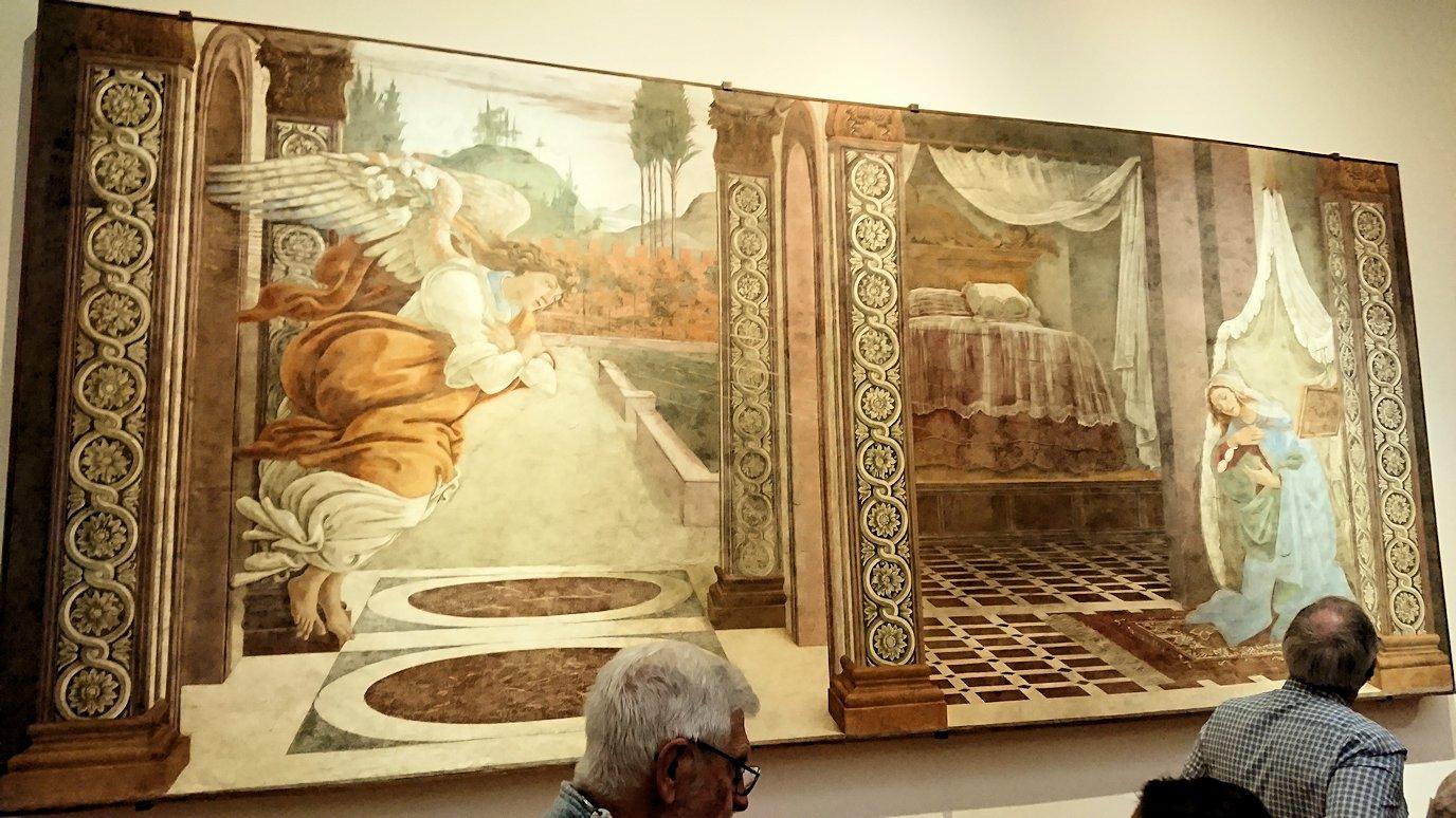 ウフィツィ美術館の有名な絵画群2