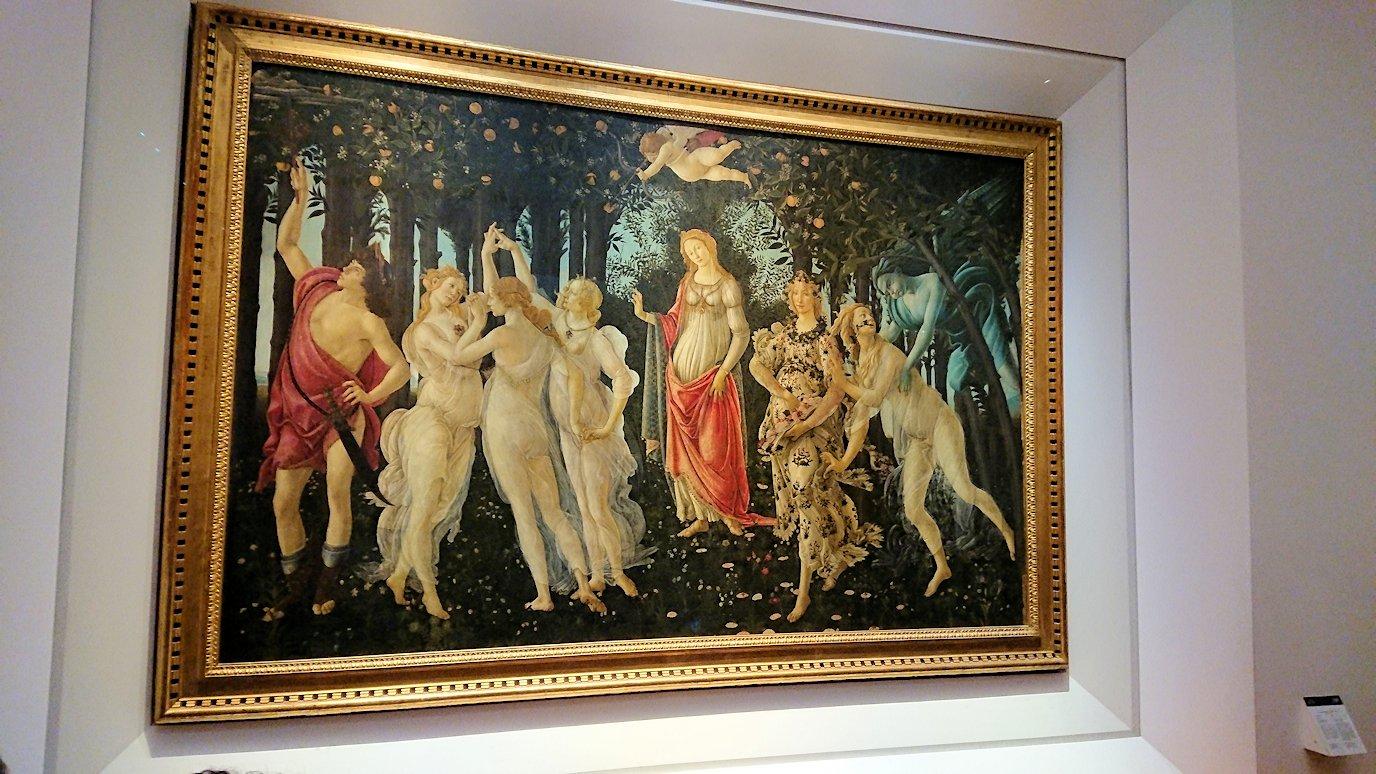 ウフィツィ美術館の有名な絵画群3
