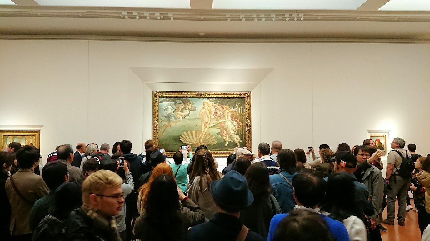 ウフィツィ美術館の有名な絵画群4