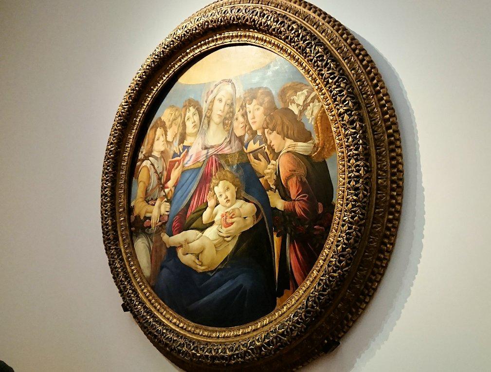 ウフィツィ美術館の有名な絵画群5