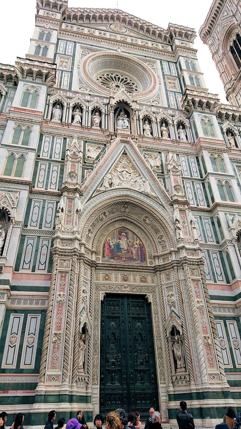 フィレンツェ大聖堂のファザード