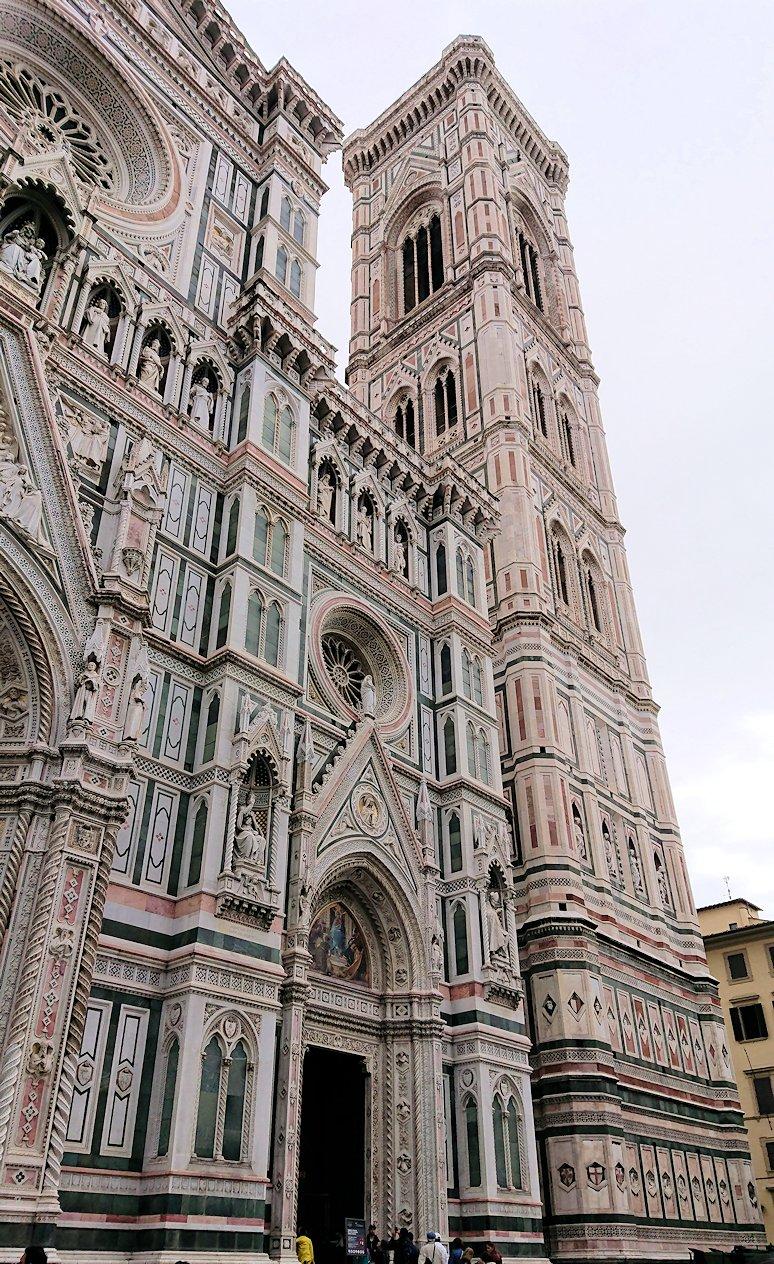 フィレンツェ大聖堂のファザード2