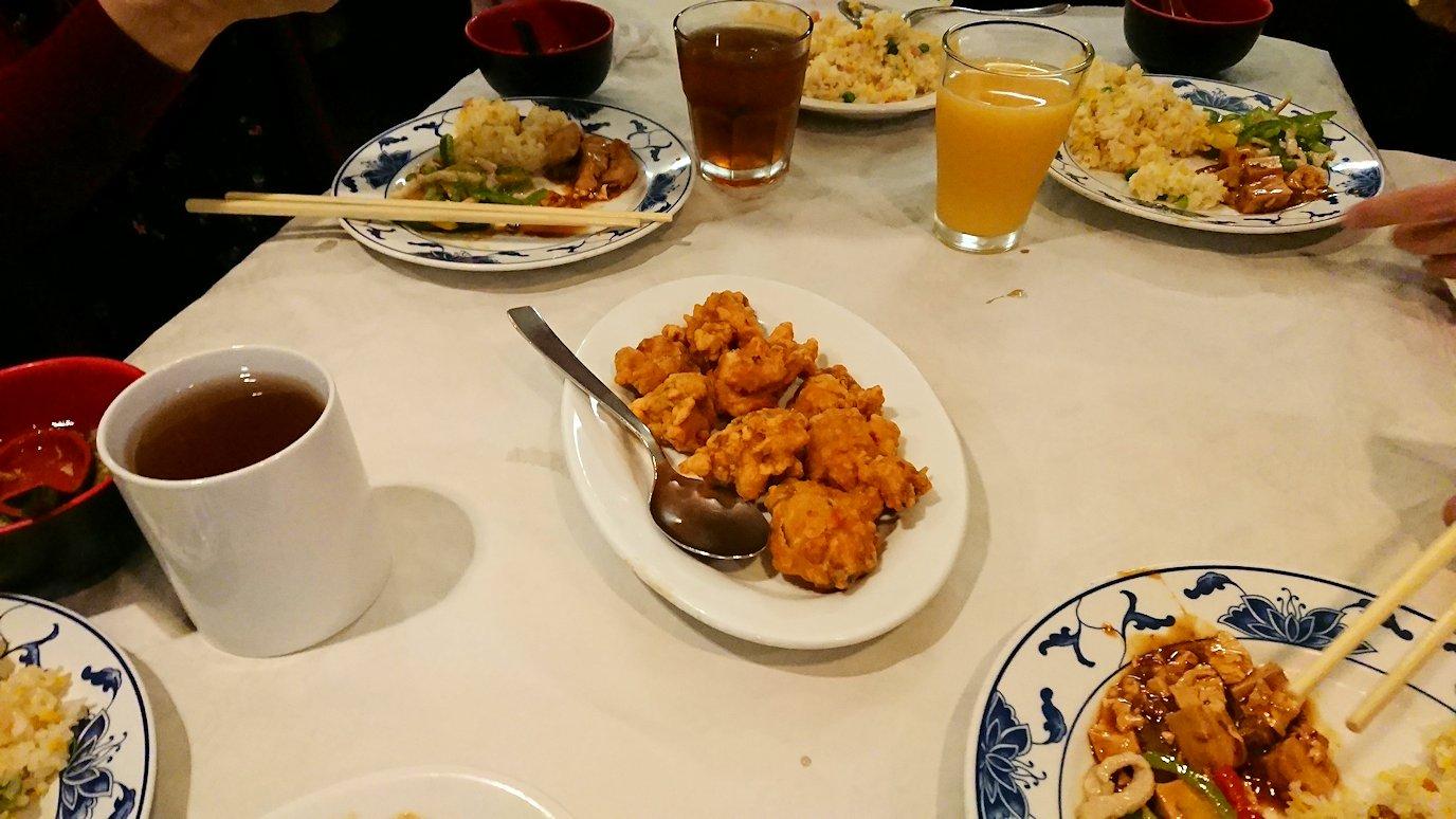 フィレンツェ市内の中華レストランの唐揚げ