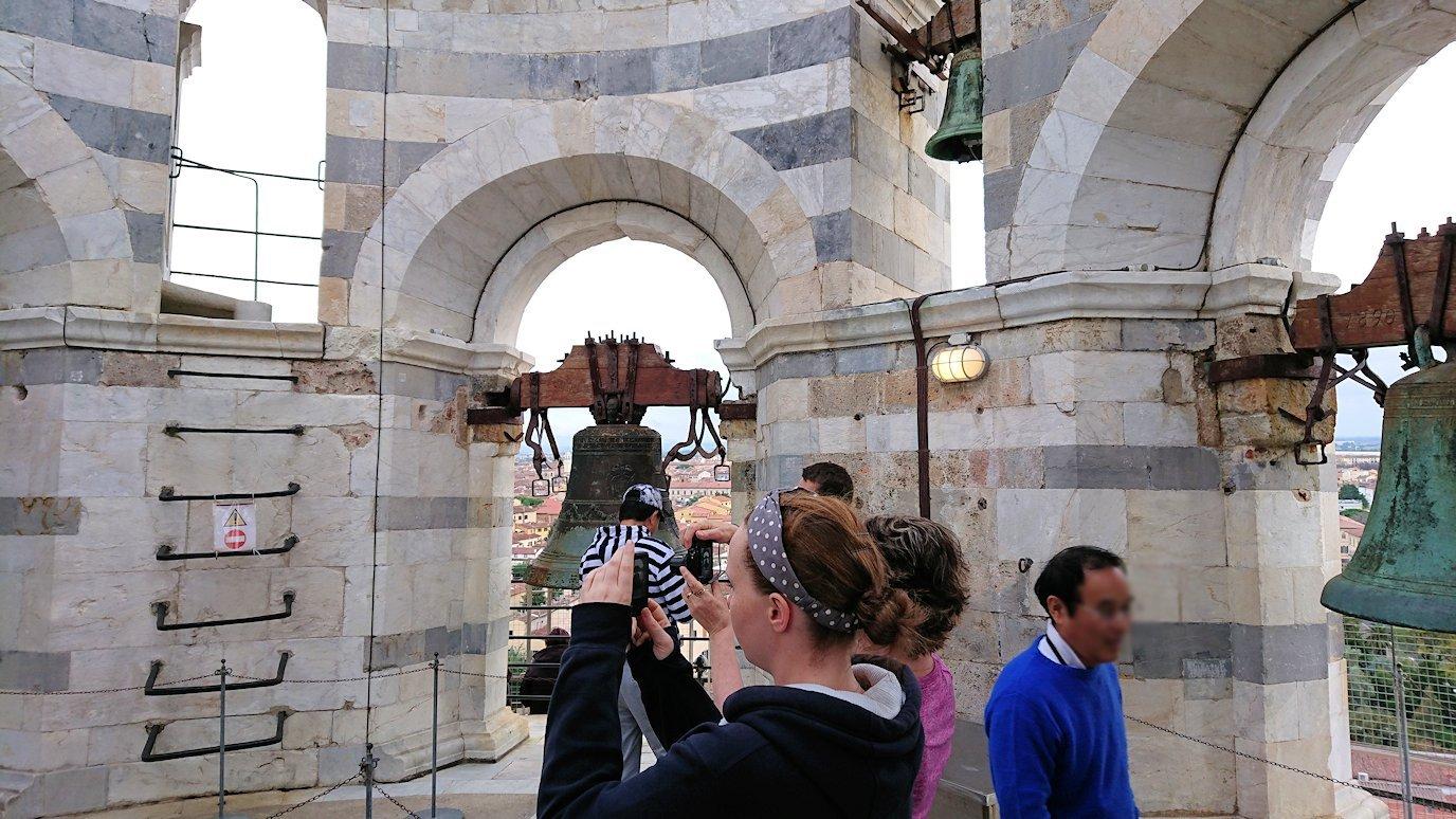 ピサの斜塔の鐘