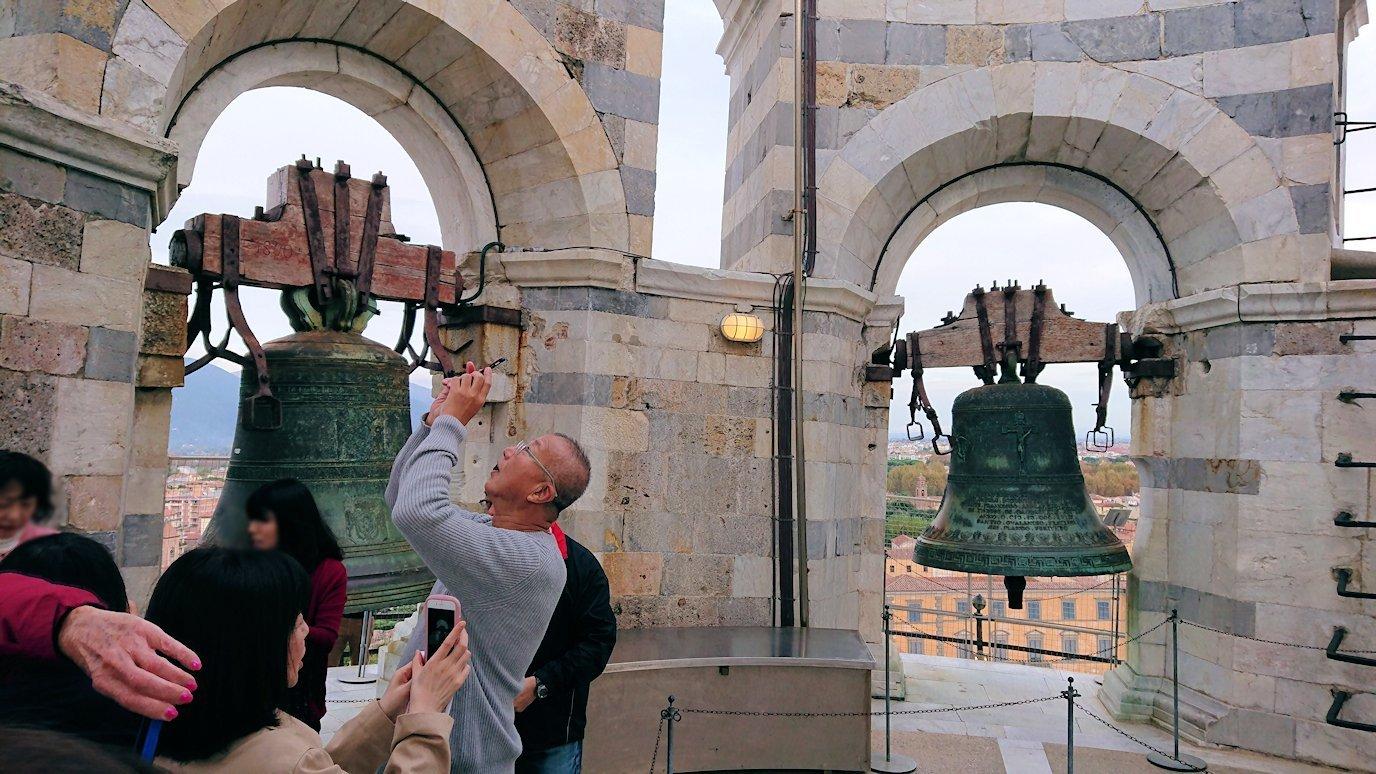 ピサの斜塔の鐘2