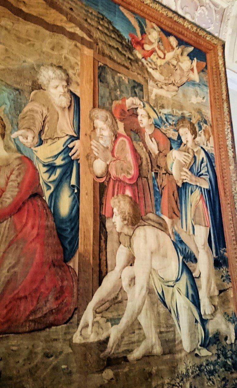 バチカン美術館のタペストリー