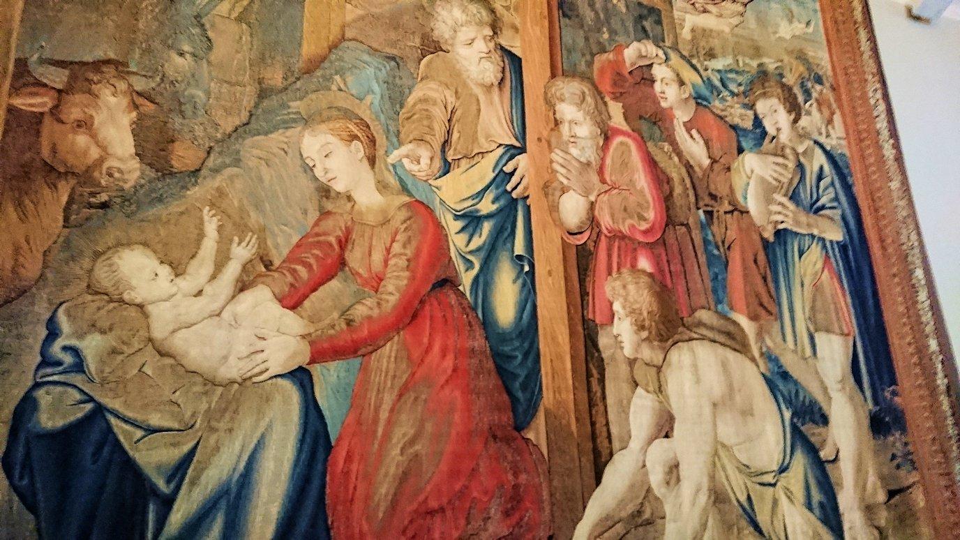 バチカン美術館のタペストリー2