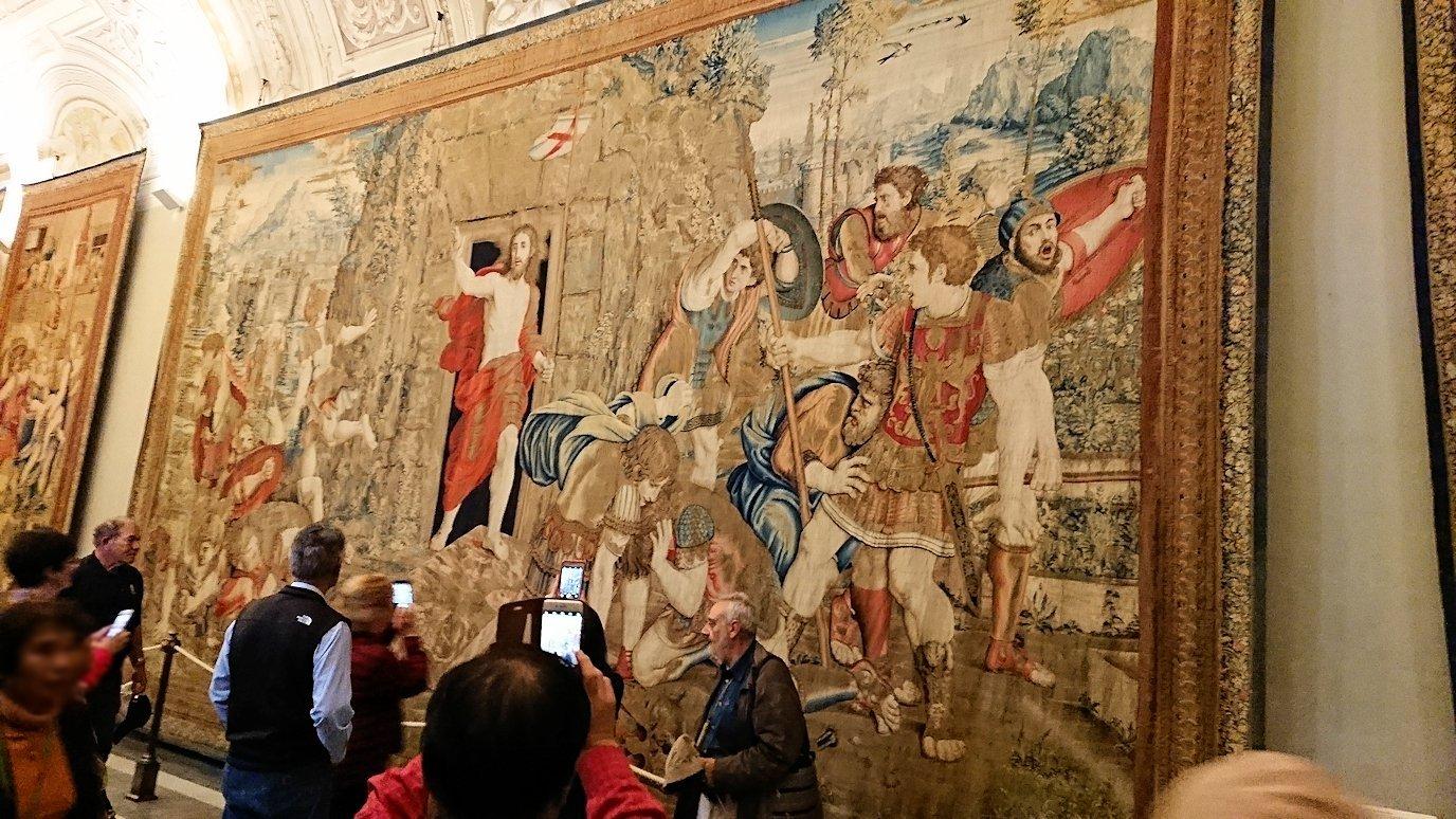バチカン美術館のタペストリーの間のキリスト画3