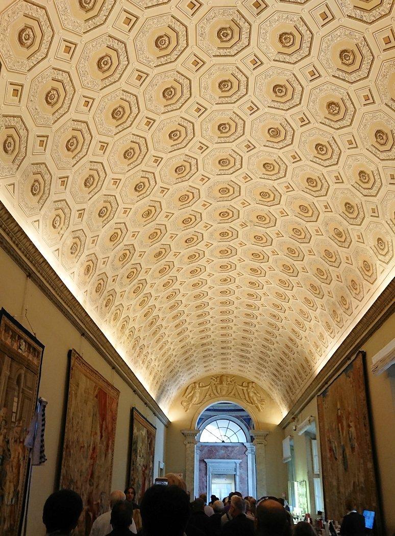 バチカン美術館の地図のギャラリーの廊下5