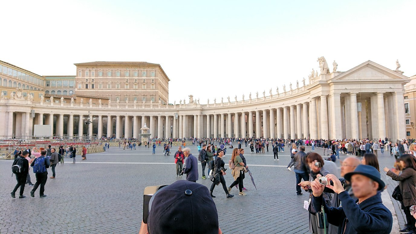 サンピエトロ広場の風景