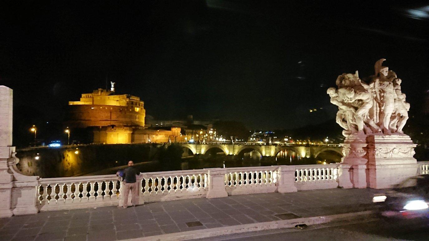 夜のサンタンジェロ城2