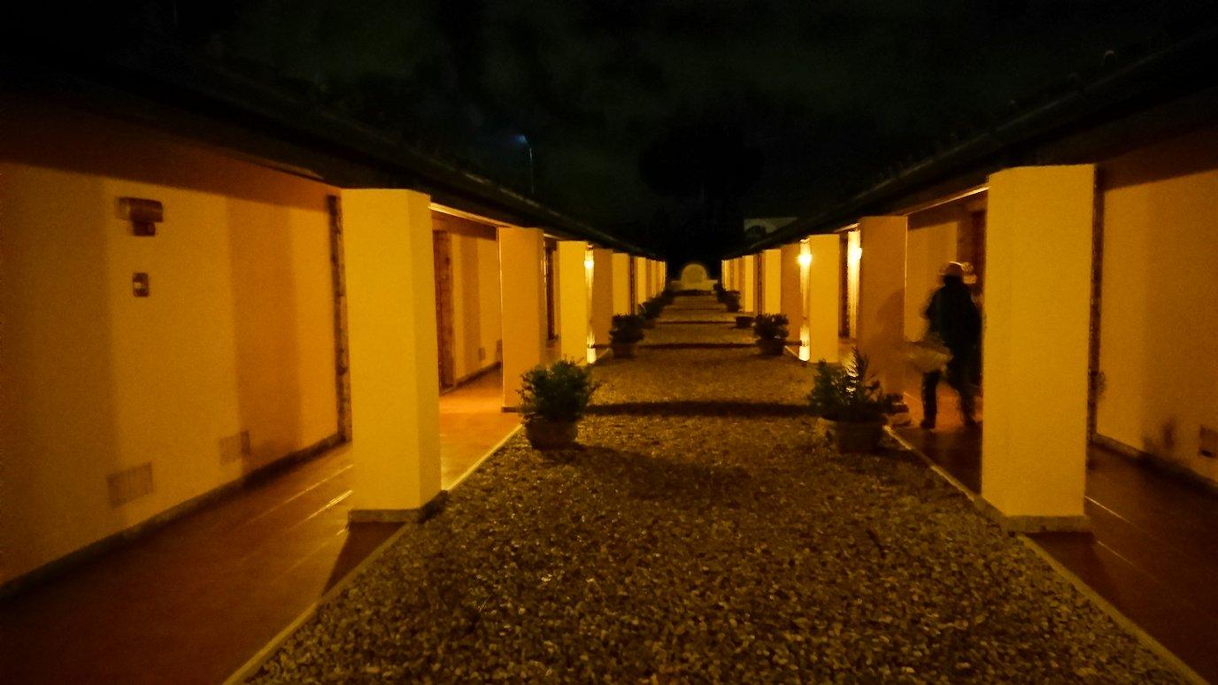 ローマシェラトンホテルの通路